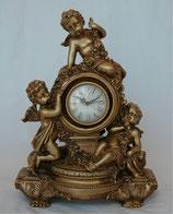 時計 置時計 テーブルクロック 天使 ヴィクトリア ゴールド オシャレ エンジェル アンティーク 金 77031CK
