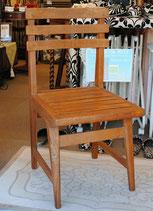 サイドチェア オールドチーク チーク無垢材 チーク 椅子 チェア ダイニングチェア アンティークチェア