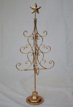 スターツリー オシャレ 60cm 星 ゴールド 金 アイアン ゴージャス 折り畳み式 クリスマスツリー 74041CT-GD