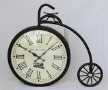 掛時計 おしゃれ ウォール クロック 自転車 アンティーク クラシック アイアン 時計 壁掛け時計 ウォールクロック Ethnic clock Makerts 306025