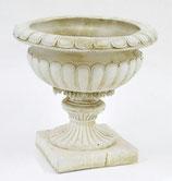 プランター ロココ調 鉢 花瓶 アンティーク 宮殿柱 花生け 花台 人造 大理石 石粉 119004