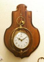 時計 オシャレ おしゃれ 壁掛け時計 古木 イタリア製 掛時計 真鍮 ウォールクロック カパーニ CAPANNI 301011