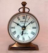 置き時計 おしゃれ 球型 レトロ 真鍮 ゴールド クロック ブラス 392000 テーブルクロック