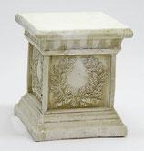 コラム ロココ調 アカンサス葉模様 コロン アンティーク 宮殿柱 プランター 花台 人造 大理石 石粉 119000