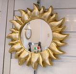 ウォールミラー おしゃれ 鏡 壁掛け ソレイユ 太陽 アンティーク イタリア製 GOLD ベルトッツィ BERTOZZI