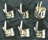 カードホルダー スタイルフランス インテリア雑貨 シルバー 銀メッキ ネームホルダー バンブー 竹 FRANCE GIFT