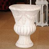プランター 花瓶 アンティーク 宮殿 花生け 人造 大理石 石粉 119001
