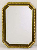 ウォールミラー おしゃれ 鏡 壁掛け 八角形 木製 アンティーク イタリア製 ベルトッツィ BERTOZZI 808363