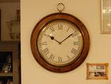 時計 オシャレ おしゃれ 壁掛け時計 古木 イタリア製 掛時計 真鍮 丸 ウォールクロック カパーニ CAPANNI 301165