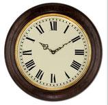 時計 壁掛け オシャレ イタリア製 木製 丸 ウォールクロック ラウンド イタリア製 ITALY Dekor Toscana デコール トスカーナ 0328000