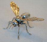 北欧雑貨 昆虫 メタル シルバー 銀 スズメバチ すずめ蜂 Sparrow bee スパロー ビー BROSTE COPENHAGEN 14461102-2 06S1-2