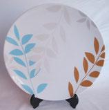 大皿 1尺1寸大皿 プレゼンテーション スタイルフランス Feuille D' Argent
