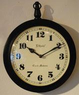 掛時計 おしゃれ ウォール クロック アンティーク クラシック アイアン Ethnic clock Makerts 306024