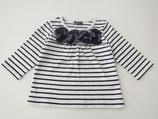 #371 BeBe 90cm 【秋物】 タグ付き未使用品 長袖Tシャツ