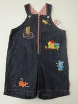 #255 MIKIHOUSE 100cm 【夏物】 タグ付き未使用品 カバーオール