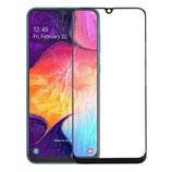 Samsung Galaxy A50 SM-A505F Display Glas Scheibe Abdeckung Schwarz
