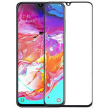 Samsung Galaxy A70 Display Glas Scheibe Abdeckung Schwarz