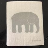 Abwaschlappen Elefant