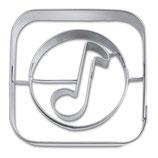 """Präge Ausstecher App-Cutter """"Music"""""""
