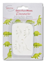 "Deko Flex Model ""Dinosaurier 4er Reliefform"""