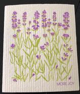 Abwaschlappen Lavendel