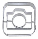 """Präge Ausstecher App-Cutter """"Camera"""""""