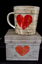Trend Mug Heart of Wood