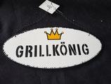 """Holz Schild """"Grillkönig"""""""