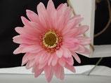 "Kunstblumen"" Gerbera Set 2-teilig Pink/Rosa"""