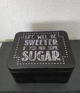 """Gebäckdose """"Life wil be sweeter.."""""""
