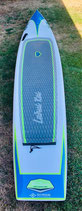 SUP Stand up paddle board Lahui Kai 14x24 team custom carbon Race board plus bag. Used excellent condition