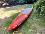 """SUP Naish Maliko race 14' x 24""""carbon stand up paddleboard Used excellent condition"""