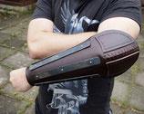 Lederarmschutz mit Ellenbogenschutz