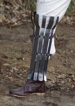 Wikinger Beinschutz, Stahl, 2mm