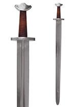 Wikinger Tempelschwert mit Scheide, für Halbkontakt-Schaukampf geeignet
