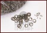 RRR 1 kg lose runde Ringe zum Vernieten, ID 8mm, unbehandelt