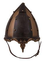 Rus-Helm mit Pferdehaarzopf