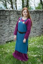 Trägerkleid Frida, Meerblau