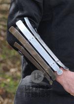 Wikinger Armschutz, Stahl, 2mm