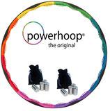 Original Powerhoop ® Deluxe mit 8 zusätzlichen Gewichten