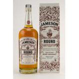 Jameson RoundVolumen: 1 Liter | Alkoholgehalt: 40% | Nicht kühlfiltriert | Ohne Farbstoff