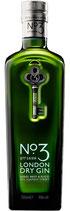 No. 3 London Dry Gin 46% Vol 0,7l