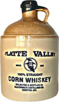 Platte Valley 100% Straight Corn Whisky - neue Ausstattung