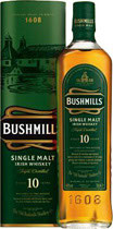 Bushmills Malt 10 Years Old  40% Vol Irish Whiskey