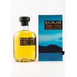 Balblair 2005/2018    Volumen: 0.7 Liter | Alkoholgehalt: 46% | Nicht kühlfiltriert | Ohne Farbstoff