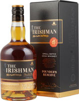 The Irishman Founders Reserve 0,7l 40%Vol Irish Whiskey