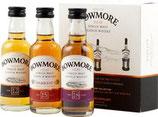 Bowmore Destiller Miniatur  Collection 3x0,5cl 12Y/15Y/18Y