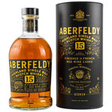 Aberfeldy 15 y.o. Red Wine Finish - Batch Bo: 2919 - Limited Edition