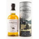 Balvenie 14 y.o. The Week of Peat Volumen: 0.7 Liter | Alkoholgehalt: 48.3% | Nicht kühlfiltriert | Mit Farbstoff