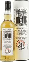 Kilkerran 8 y.o  Cask Strength 0,7l 55,7% Release  2017 Bourbon Cask
